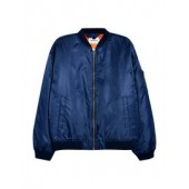Blue Bomber Jacket