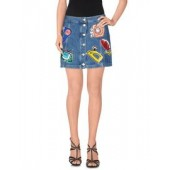 AU JOUR LE JOUR  Denim skirt  42539020LB