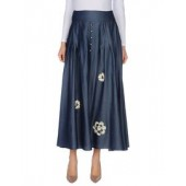 TIZIANO SANTANDREA  Denim skirt  42553179RV