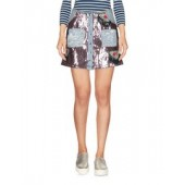 AU JOUR LE JOUR  Denim skirt  42579698VM