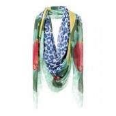 MOTHER OF PEARL Square scarf