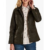 Barbour Utility Waxed Jacket, Olive