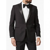 Chester by Chester Barrie Wool Mohair Slim Fit Dress Suit Jacket, Black