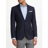 John Lewis Tailored Fit Blazer, Navy