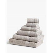 Croft Collection Organic Towels, Grey