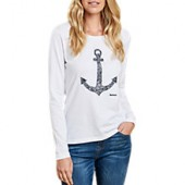 Barbour Wester Anchor T-Shirt, White