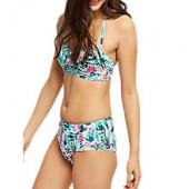 Joules Rimini Secret Garden Bikini Shorts, Multi