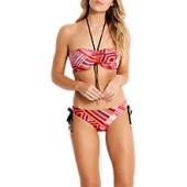 Seafolly Desert Tribe Hipster Bikini Briefs, Flame