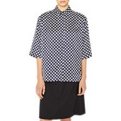 PS Paul Smith Polka Dot Shirt, Navy