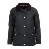 Barbour Pembrey Waxed Jacket, Sage