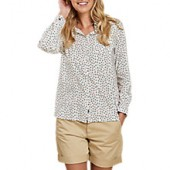 Barbour Whitby Anchor Print Shirt, White