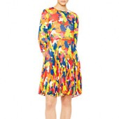 PS Paul Smith Camouflage Dress, Multi
