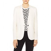 PS Paul Smith Woven Wool Blazer, Cream
