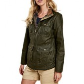 Barbour Lightweight Filey Waxed Jacket, Archive Olive