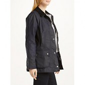 Barbour Whitby Waxed Jacket, Royal Navy