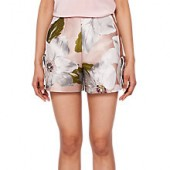 Ted Baker Chatsworth Bloom Jacquard Shorts, Dusty Bloom