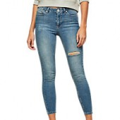 Miss Selfridge Lizzie Jeans, Blue