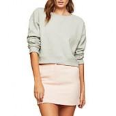 Miss Selfridge Pelmet Mini Skirt, Pale Pink
