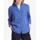 Boden Linen Shirt, Delave
