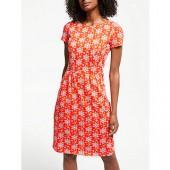Boden Phoebe Jersey Dress, Blood Orange