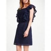 Somerset by Alice Temperley Broderie Dress, Navy