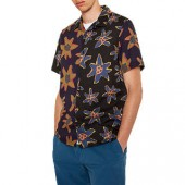 PS Paul Smith Casual Fit Floral Shirt, Blue