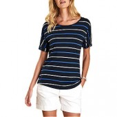 Barbour Marloes Jersey T-Shirt, Navy
