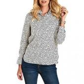 Barbour Hustanton Gull Print Shirt, Off White