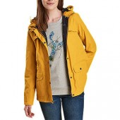 Barbour Lunan Waterproof Jacket, Yellow