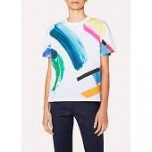 PS Paul Smith Paint Splash T-Shirt, White