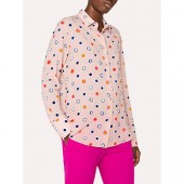 PS Paul Smith Scribble Spot Print Shirt, Pink