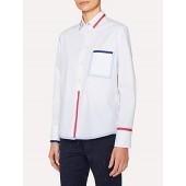 PS Paul Smith Trim Detail Shirt, White