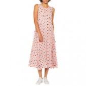 PS Paul Smith Scribble Spot Print Dress, Pink