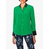PS Paul Smith Contrast Long Sleeve Shirt, Green