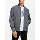 Kin Bomber Jacket, Grey