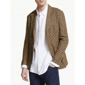 Polo Ralph Lauren Linen Check Sports Coat, Brown