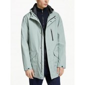 Kin Technical Waterproof Parka Coat, Mint