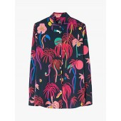 PS Paul Smith Urban Jungle Shirt, Blue/Multi