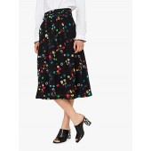 PS Paul Smith Ring Box Print Skirt, Black/Multi
