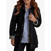 Barbour Harriet Liberty Wax Cotton Jacket, Royal Navy
