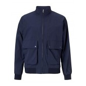 JOHN LEWIS & Co. Berkeley Japanese Ripstop Bomber Jacket, Navy