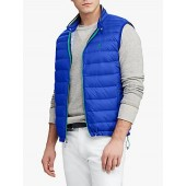 Polo Ralph Lauren Packable Quilted Down Gilet, Sapphire Star