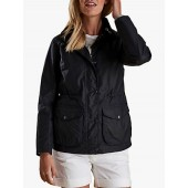 Barbour Fleetwood Waxed Cotton Jacket, Royal Navy