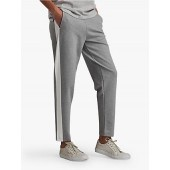 Barbour International Track Trousers, Light Grey Marl