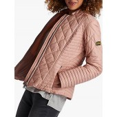 Barbour International Sprinter Quilted Jacket, Nude