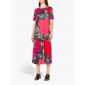 PS Paul Smith Rainforest Jersey Dress, Pink/Multi