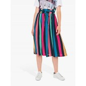 PS Paul Smith Rainbow Stripe Skirt, Multi