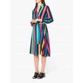 PS Paul Smith Rainbow Stripe Dress, Multi