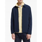 Wax London Witham Coach Coat, Indigo