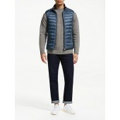 Hackett London Reversible Down Gilet, Blue/Navy